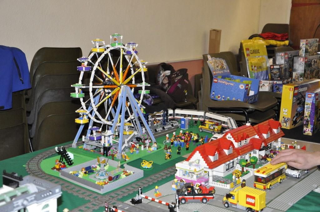 One of many stunning Lego displays at Oban Winter Bricks.