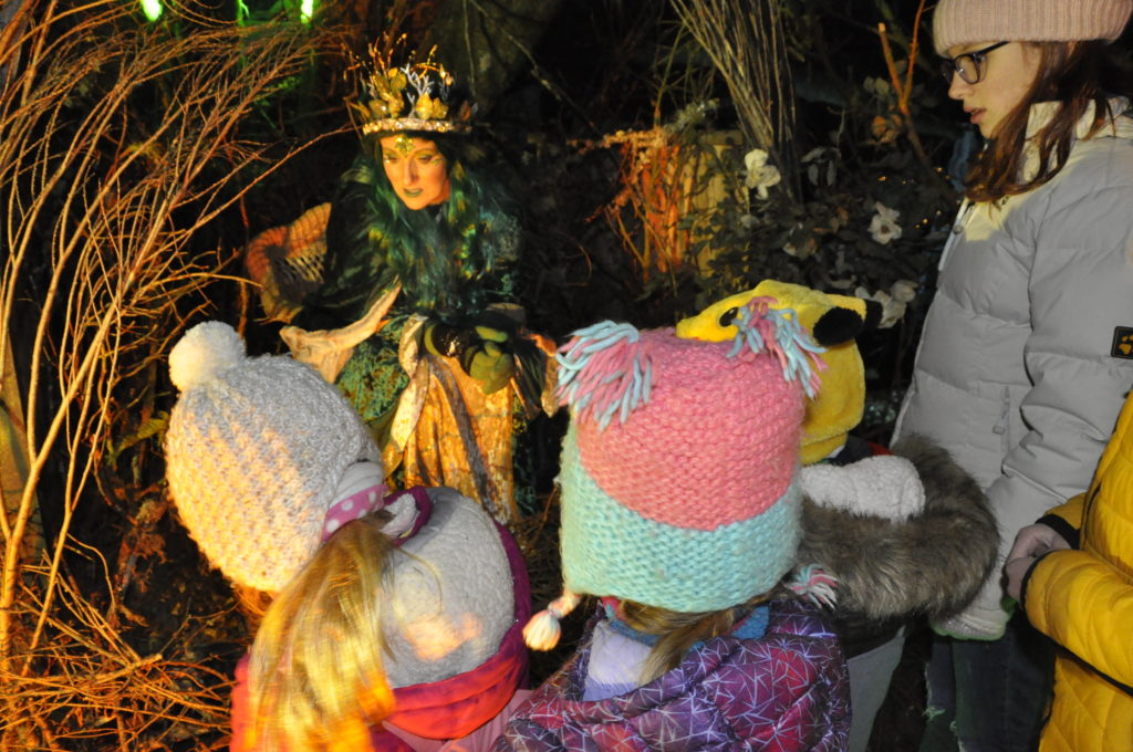 This young audience had an audience with the Fairy Queen.