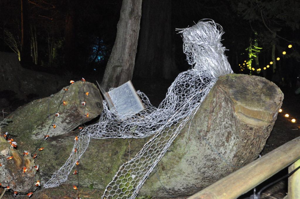 A reading fairy.