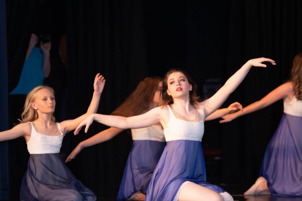 Ballet West. Photograph: Abrightside photography.  NO F48 DP Ballet west- high school ballet