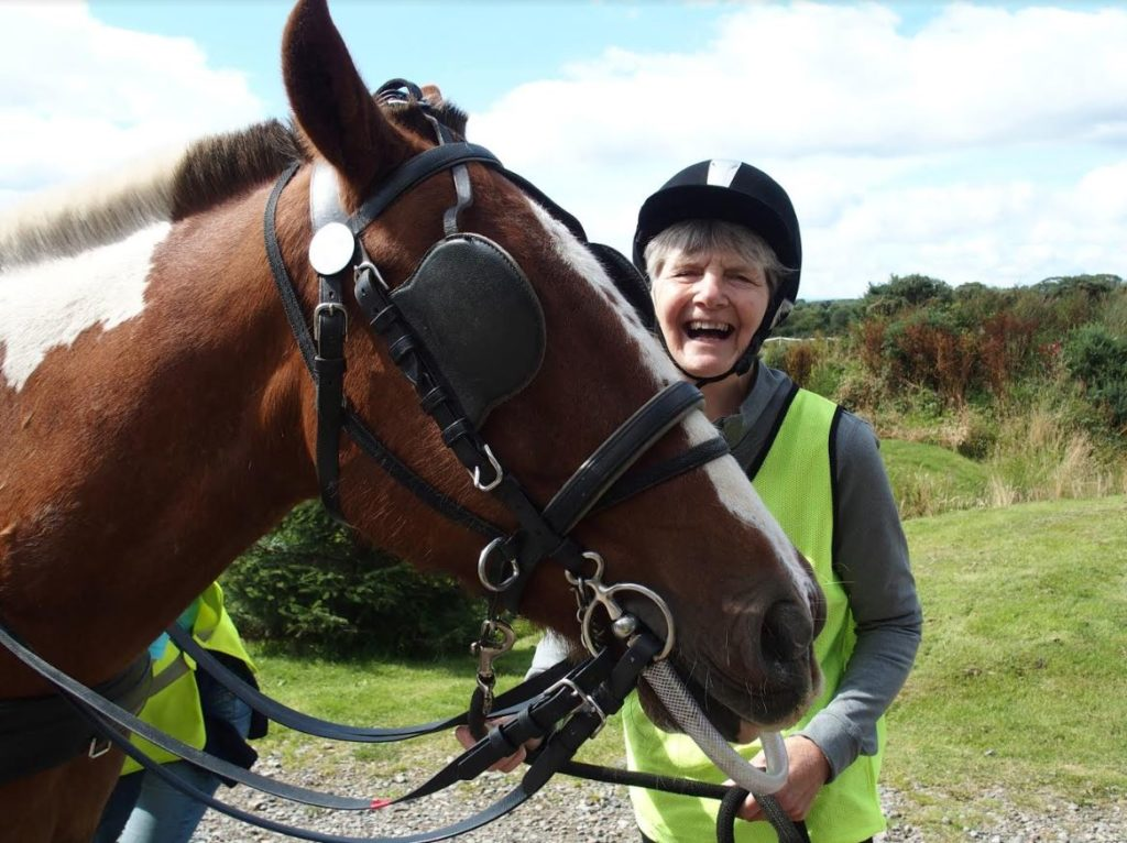RDA volunteer Gail MacGregor was recognised for her exceptional support given to the Argyll Carriage Driving Group.