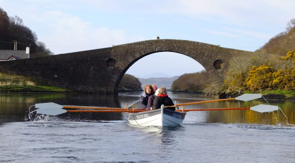 Seil Coastal Rowing Club will be helping complete the Argyll stretch of the relay route on-line now.
