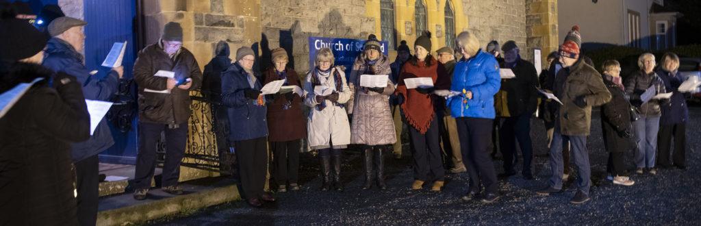 STREET FESTIVAL Duncansburgh Macintosh choir. Photograph: Iain Ferguson, alba.photos