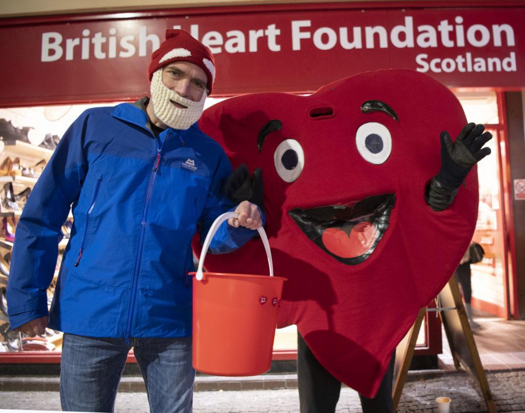 STREET FESTIVAL Big Heart appeal. Photograph: Iain Ferguson, alba.photos