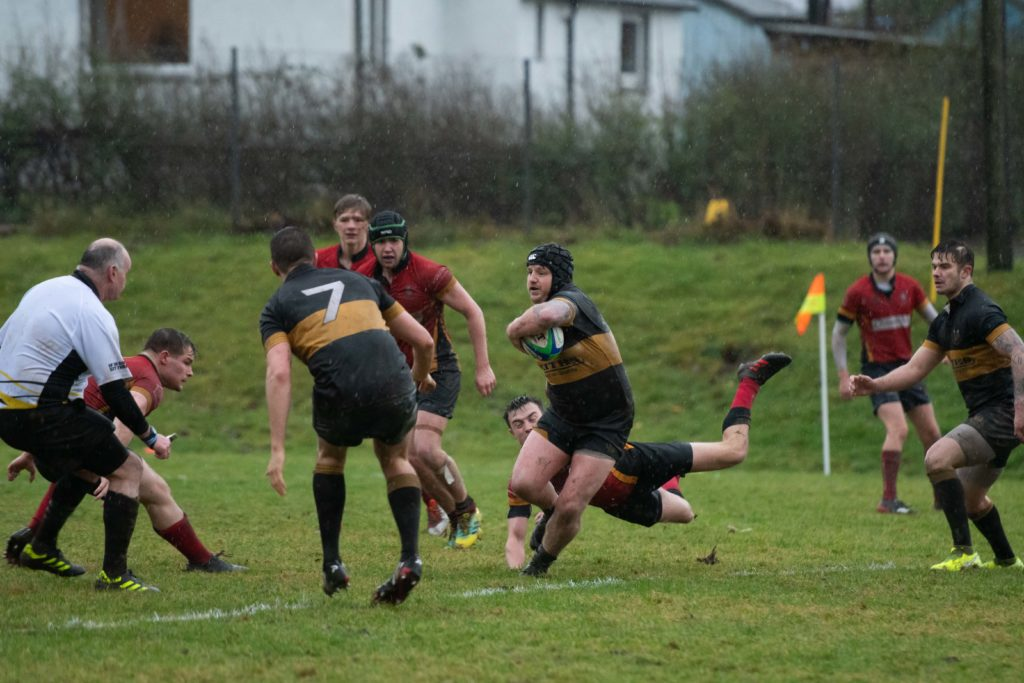 Another charge from Lochaber. Photograph: Abrightside Photography.  NO F50 LRFC V GUM_-2