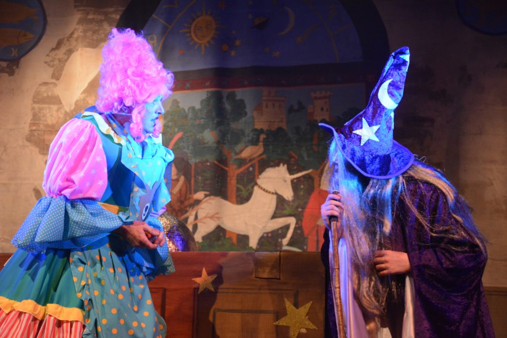 Nurse Connie and Merlin the Wizard were magic.