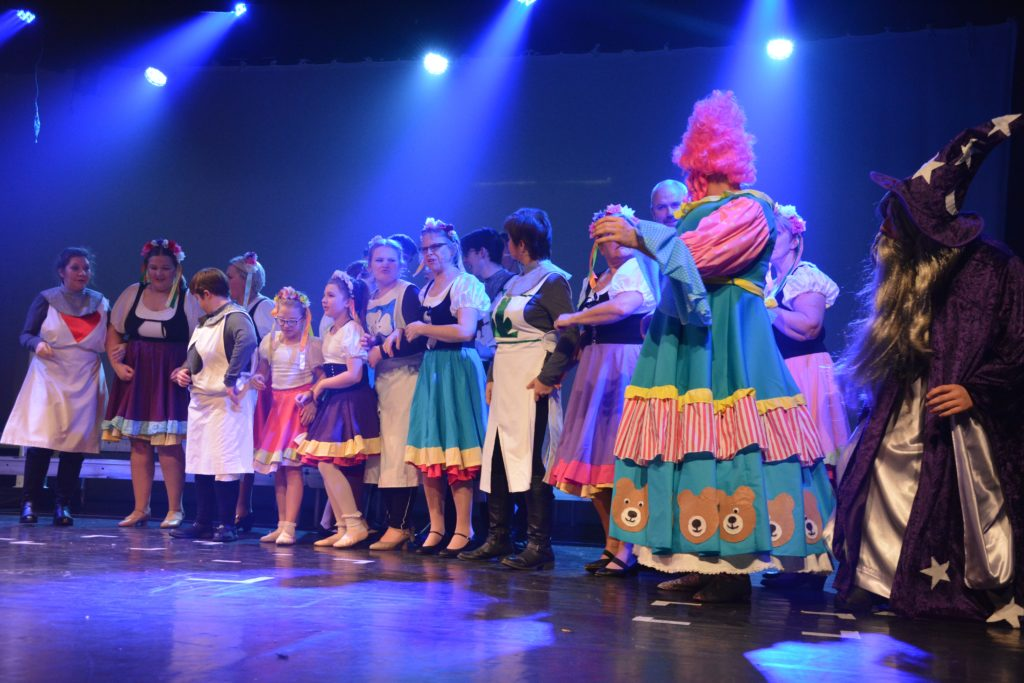 Song and dance routines were tight in this year's panto offering from Oban's Spotlight Musical Theatre Group.