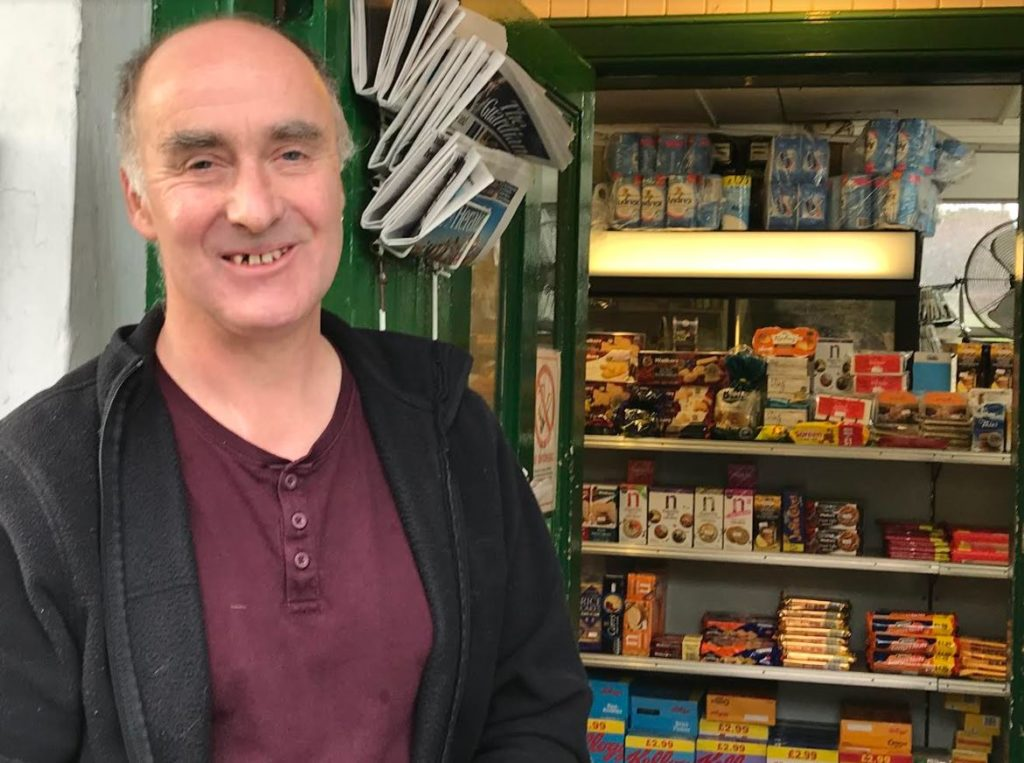 David Wilson is delighted new custodians have been found to keep the store and post office running.