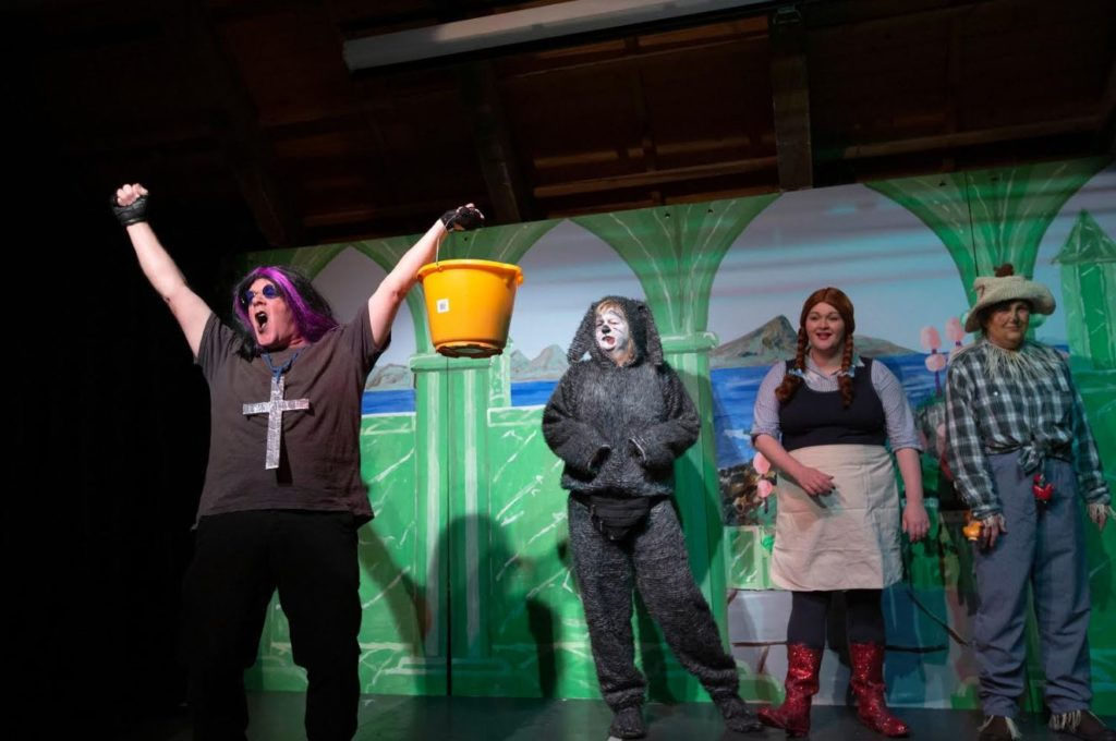 Wizard of Ozzydale raised laughs as well as funds for the island charity.