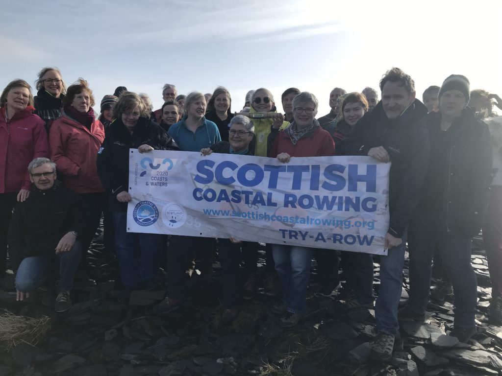 Scottish Coastal Rowing will make the headlines this year with a bid to RowAround Scotland.