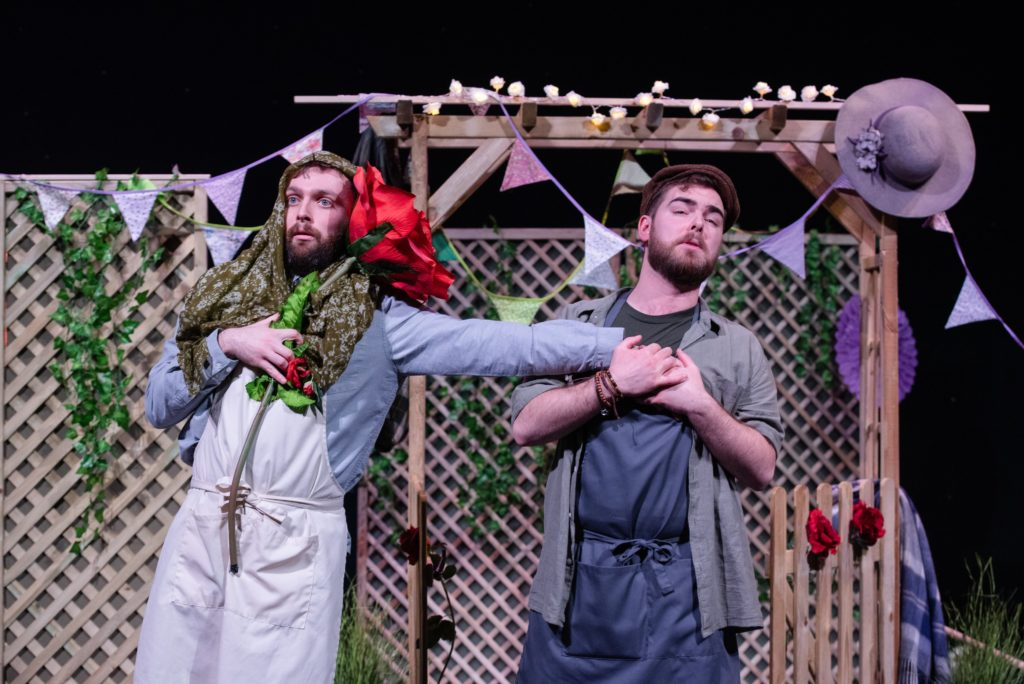 Andrew Irwin and Arthur Bruce in action in spring Opera Highlights. Photograph: Julie Broadfoot.