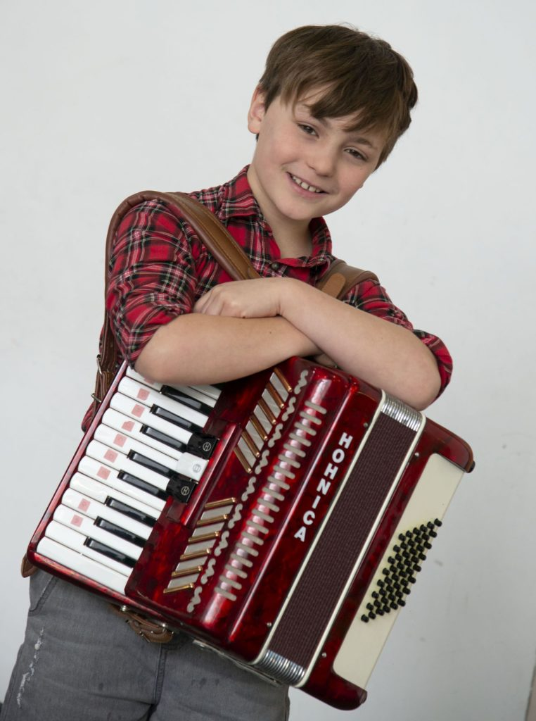 MUSIC FESTIVAL  Rocco Berardelli, joint second in the Accordion Solos - Beginners competition.  Photograph: Iain Ferguson, alba.photos