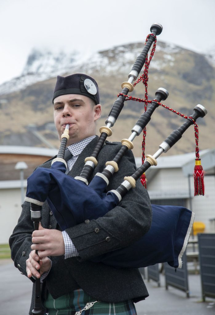 MUSIC FESTIVAL Piper, Andrew Orr,  winner of the Premier Scots Traditional Award.  Photograph: Iain Ferguson, alba.photos