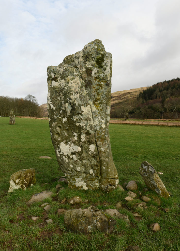 Nether Largie standing stones at Kilmartin Glen. Pic by Phil Cope