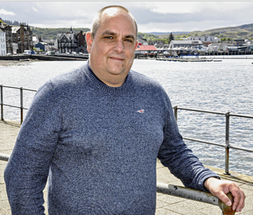 Andy Spence, chief executive of Bid4Oban business group