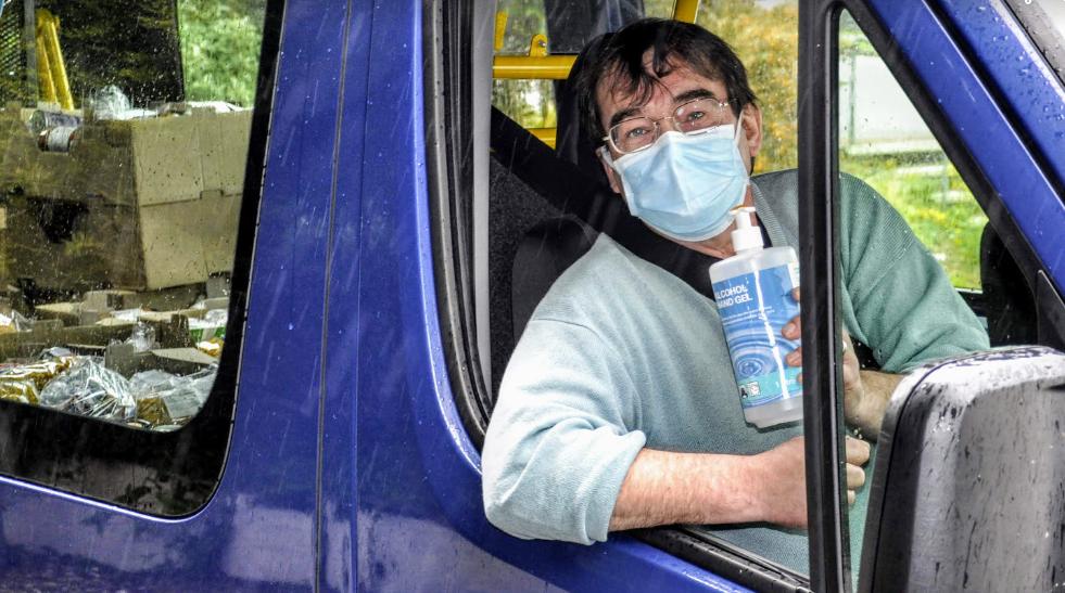 Council driver Iain Hibbert