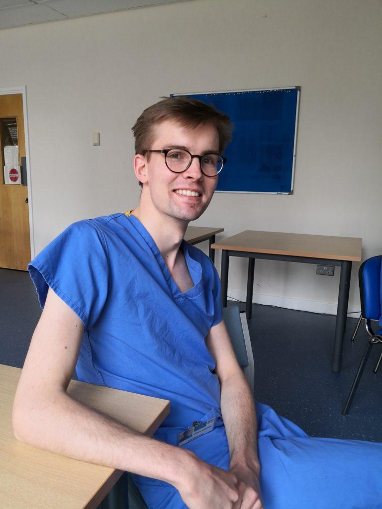 Interim junior doctor Craig Osborne.