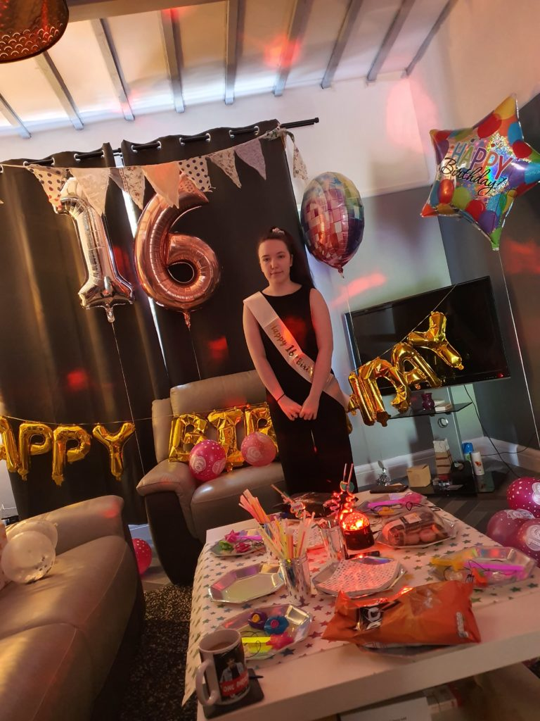 Adele Claire MacMillan had to celebrate her 16th birthday in isolation at Kinlochleven on May 3, joined by her mum Susan and little sister Casey while her dad called from his work on an oil rig in Cameroon.
