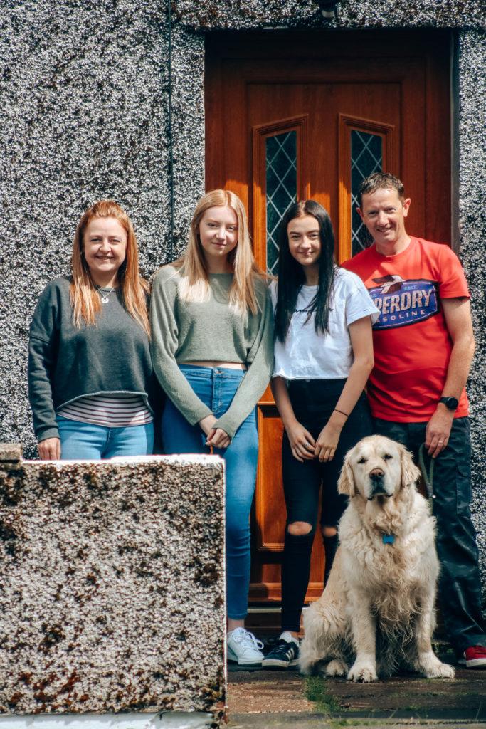 The Sinclair family of Dumbarton Road Fort William.