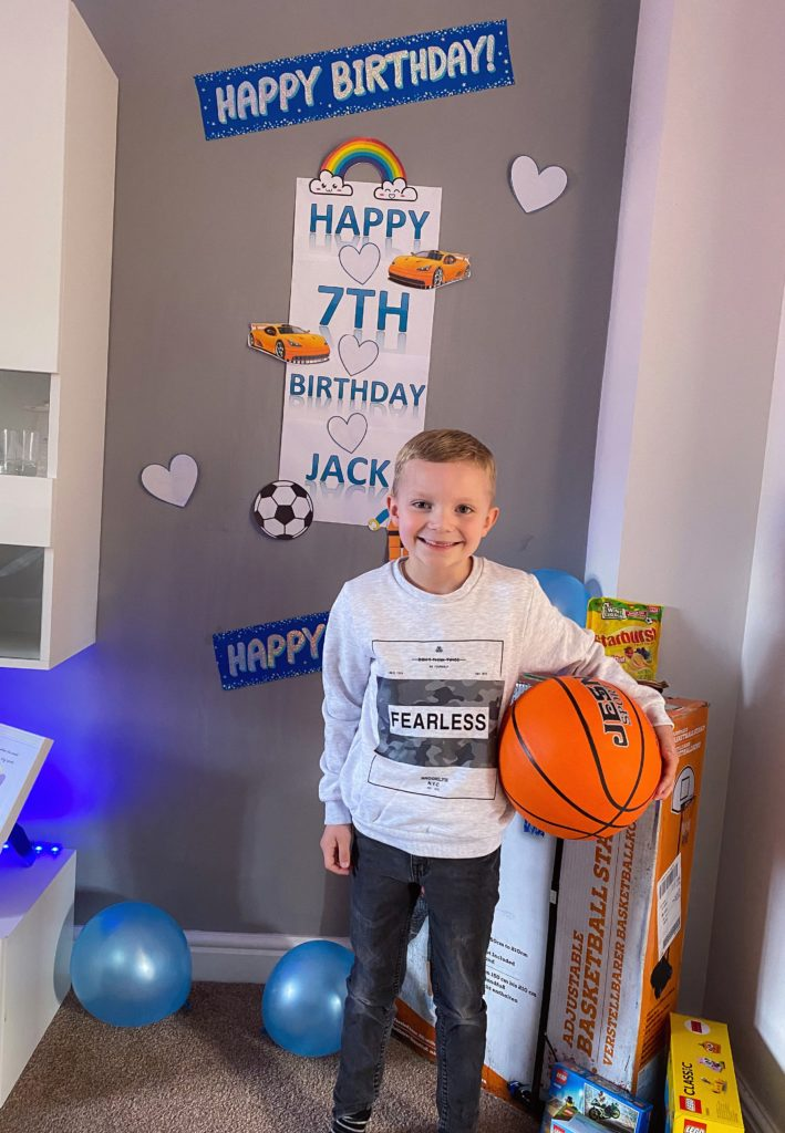 Jack Lockhart celebrated his 7th birthday on May 10 in lockdown. Jack enjoyed lots of family fun in the garden playing games. He got a new basketball and basketball net and the weather was perfect for a basketball competition with mum, dad and little sister Lilly-May. Jack's family were worried how a birthday would go during lockdown but at the end of the day before going to bed Jack said it was 'the best birthday ever'.