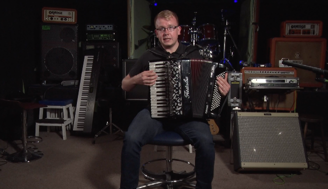 Trail West accordionist Ian Smith is part of a top team of musicians taking part.