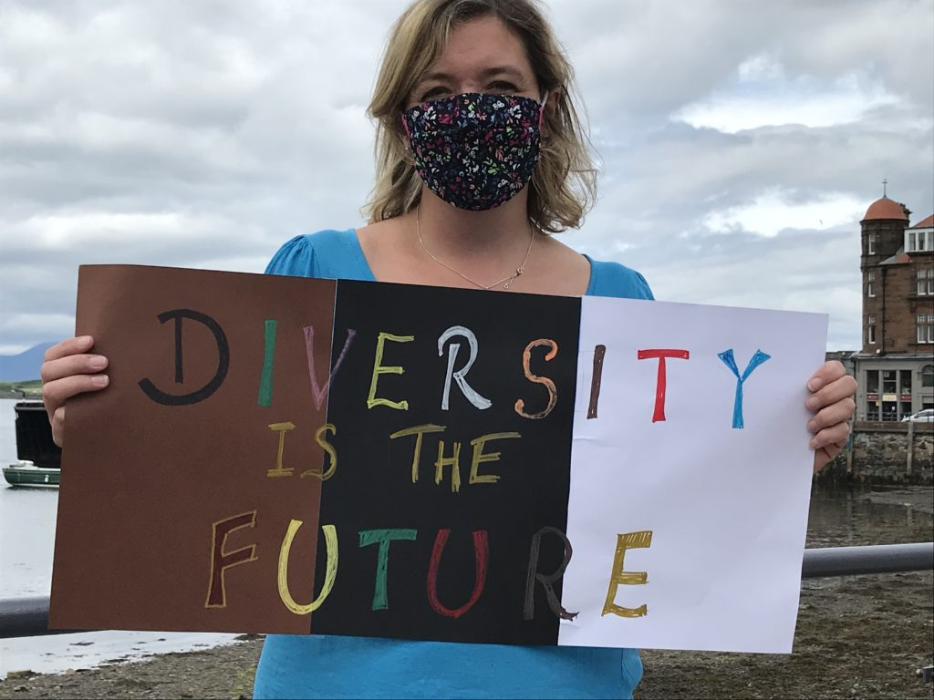 Strong message; Diversity is the future.