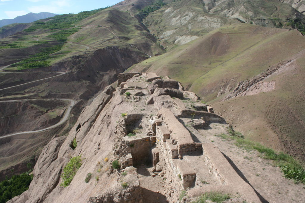 The remains of Alamut Castle