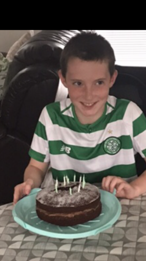 Iain Boyle, from Glencoe, celebrated his 11th birthday on June 15. He had a nice family walk and his favourite chippy tea followed by some lovely birthday cake.