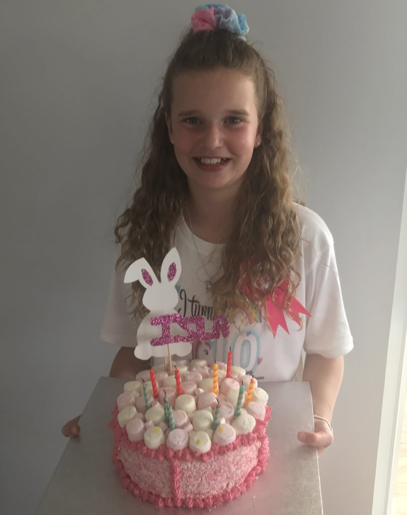 Isla Muir, from Oban, celebrated her 10th birthday, on Tuesday, June 16. Isla had a great day playing in the sun and eating birthday cake!