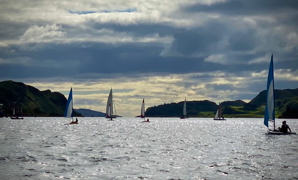Oban Sailing Club is open to new members. Photograph: Andy Lockwood.
