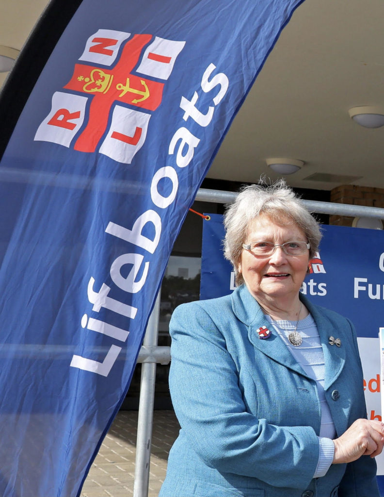 Peigi Robertson has been fundraising for more than 50 years for the RNLI