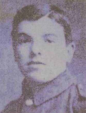Private Andrew McNab, one of three McNab brothers killed during the First World War.