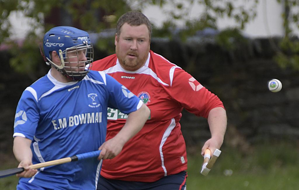 Robbie McFadyen and Lorne Brown.  Photograph: Iain Ferguson, alba.photos