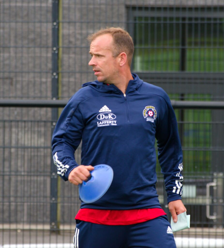 Coach Ross Maitland was in charge in the absence of manager Willie Gemmell.