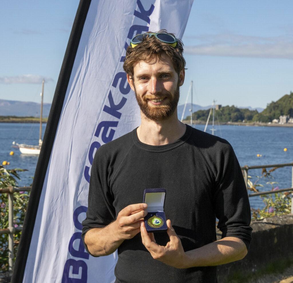 Philip De long winner male tour class 2hr 2m 54s