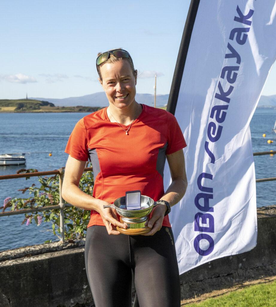 Annette Boerlage winner female tour class 2hr 14m 22s