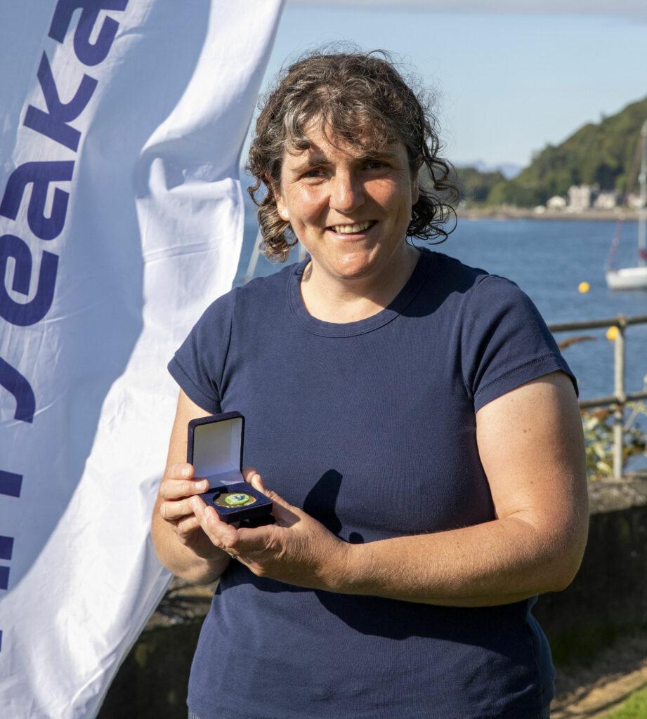 Tina Misselbrook first female senior ski category 2hr 2m 55s