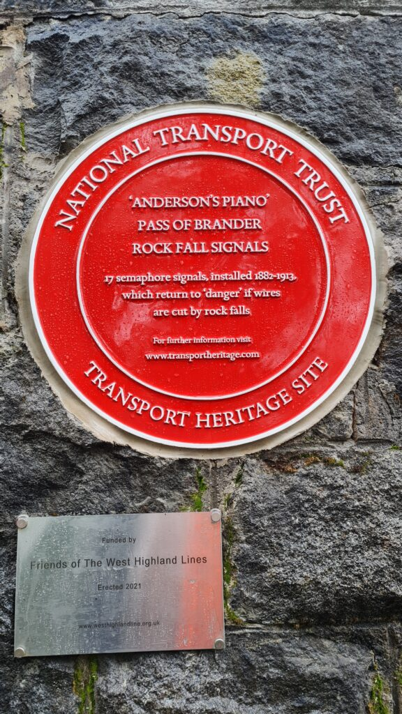 The plaque is the eighth to be unveiled in Scotland. Photographs: Graham Atkins