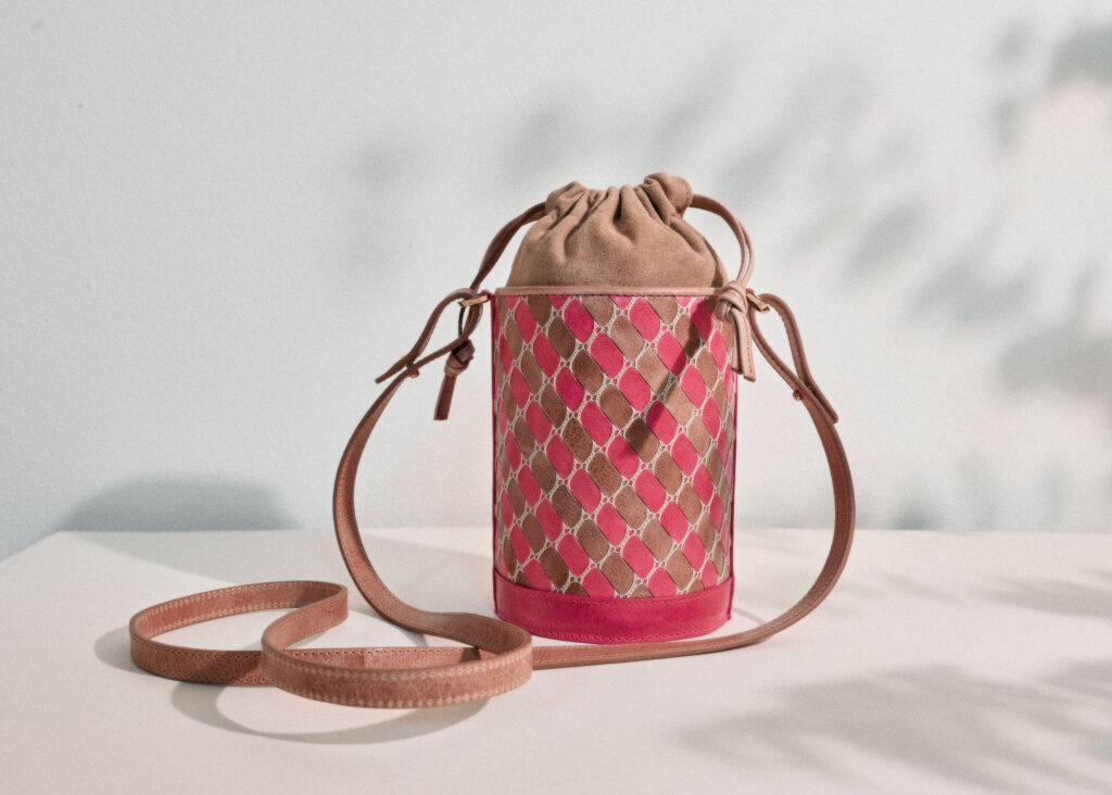 Highlands based leathercraft maker, Isabel Hendry.
