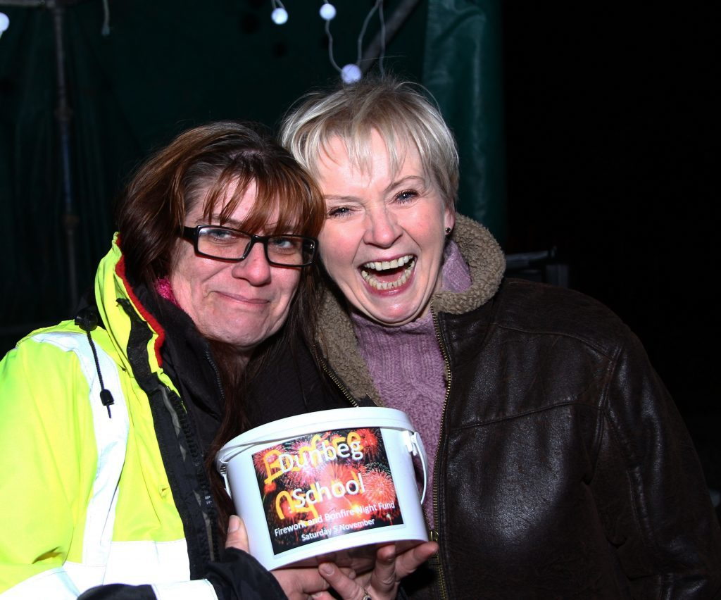 'Boomtown' bonfire helps raise £500 for Dunbeg Primary School