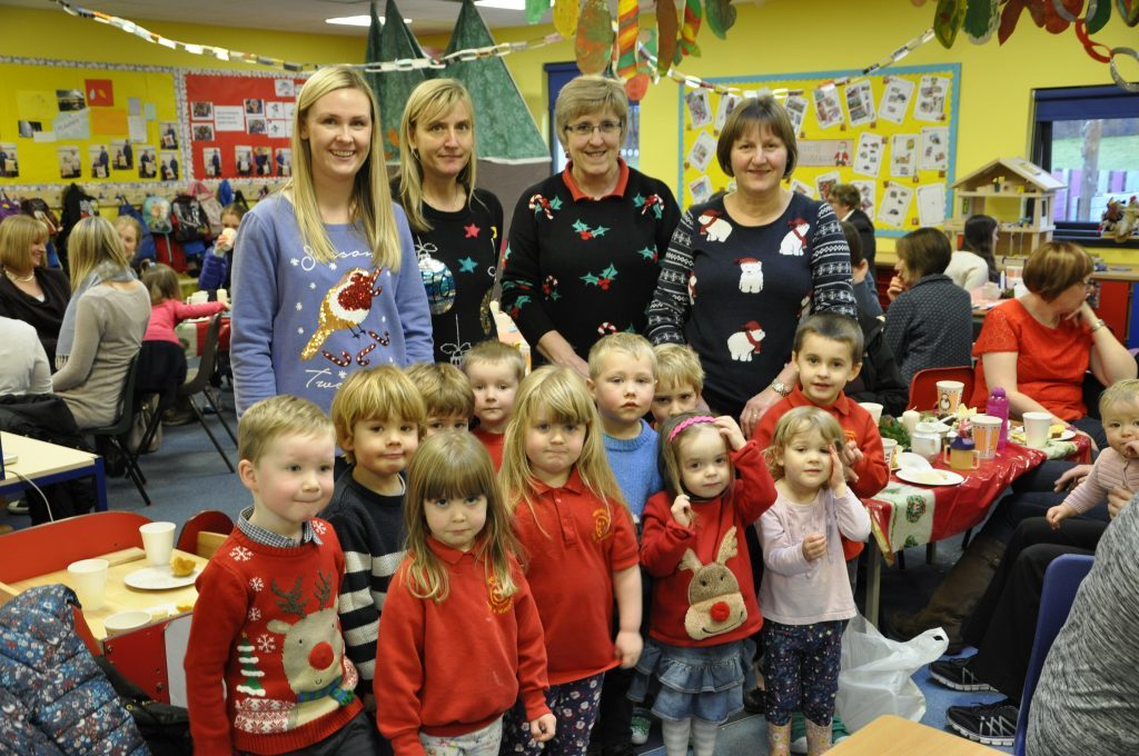 Nursery tots give Hope at Christmas