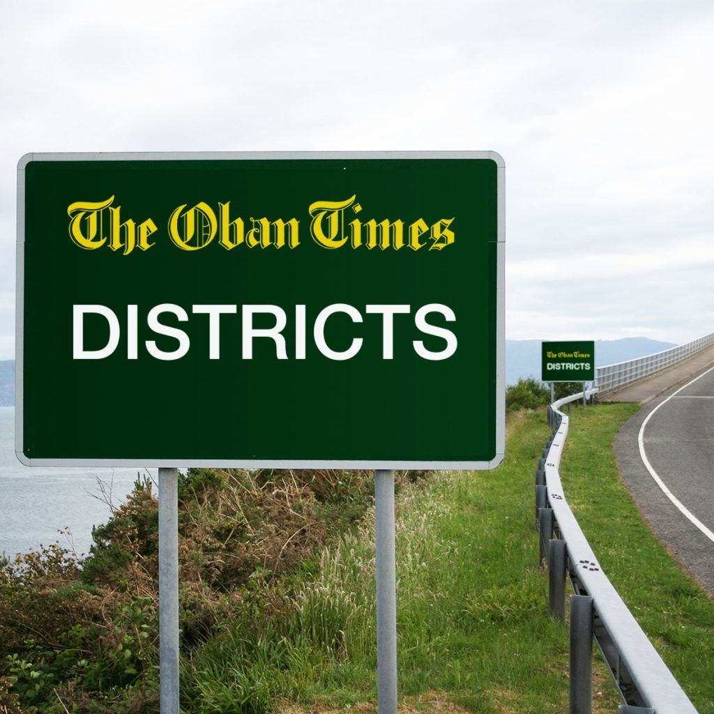 News from all the districts in Argyll and the Isles