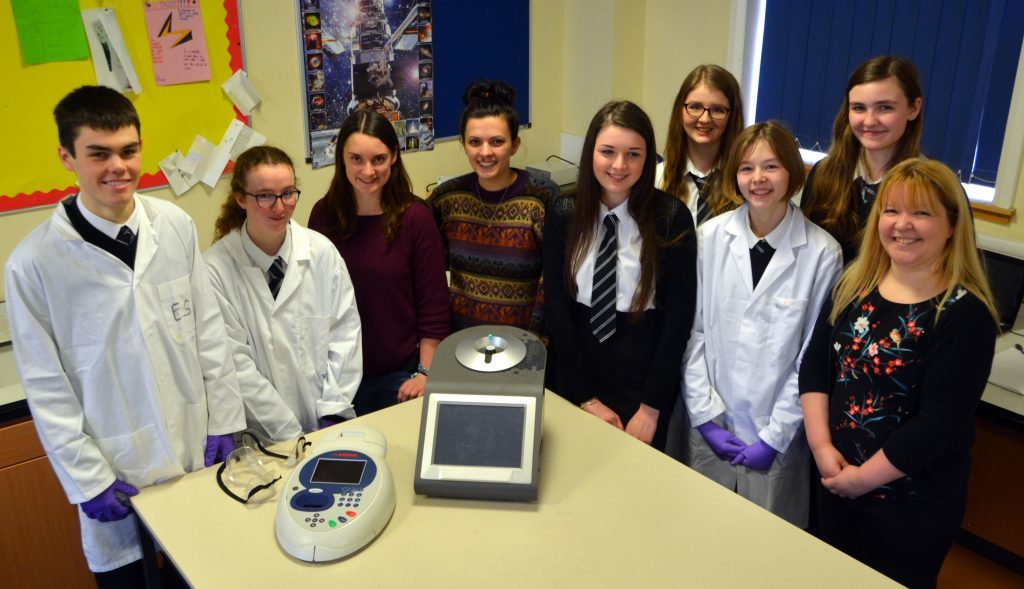 Chemistry pupils take part in special workshop