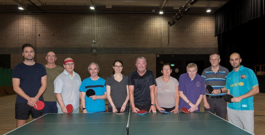 Table tennis club back in action after festive break
