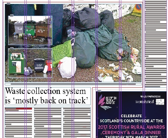 Opinion: Martin Laing says the bins system is till rubbish