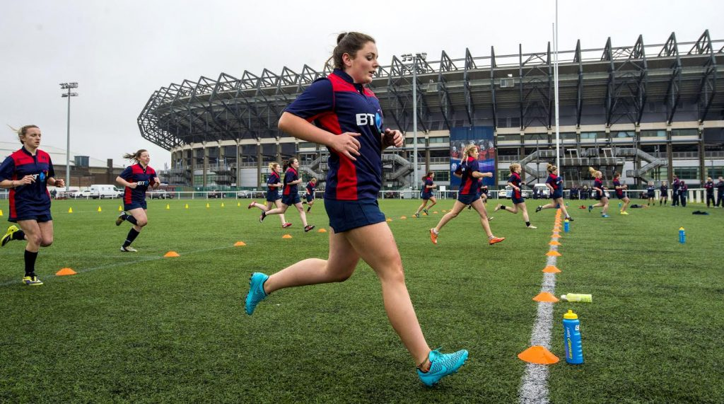 Oban's Abigail Evans has been named in Scotland's Six Nations Squad