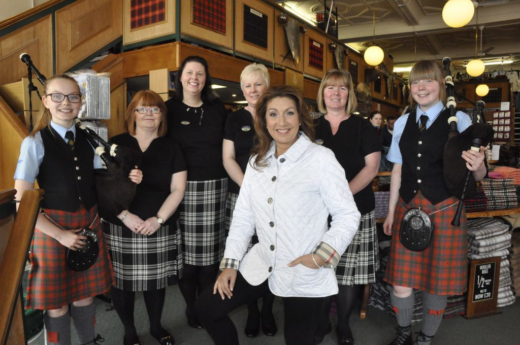 Oban features on TV thanks to former Loose Women presenter Jane
