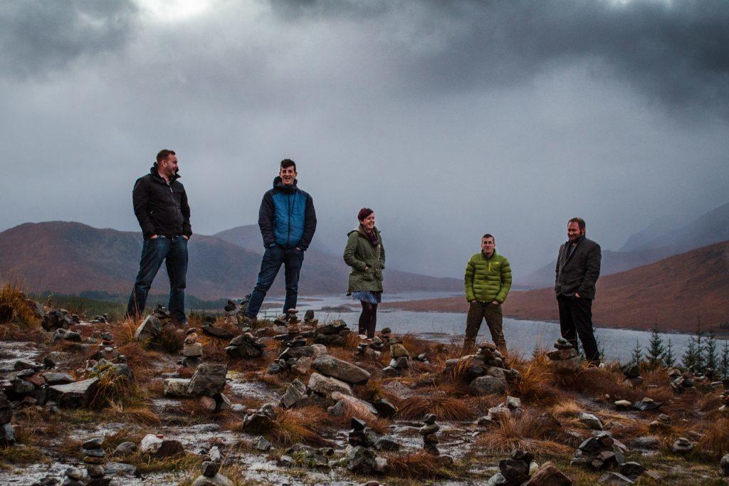 Lochaber band FRAS plays Caol