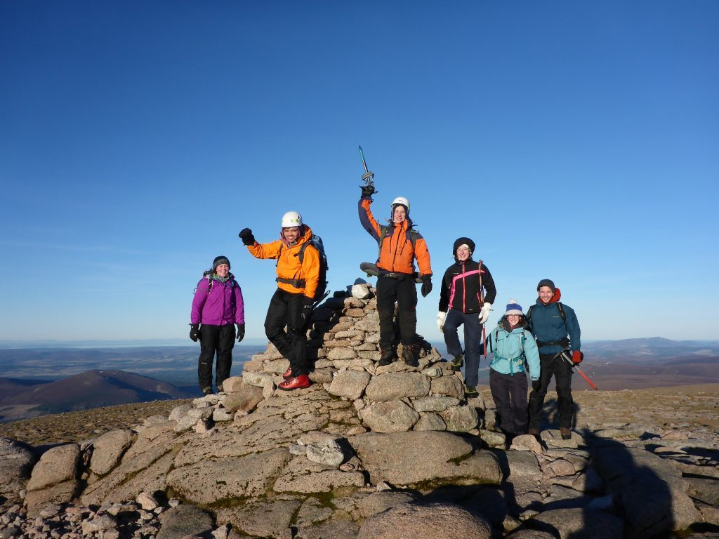 Winter mountain training programme aimed at youngsters