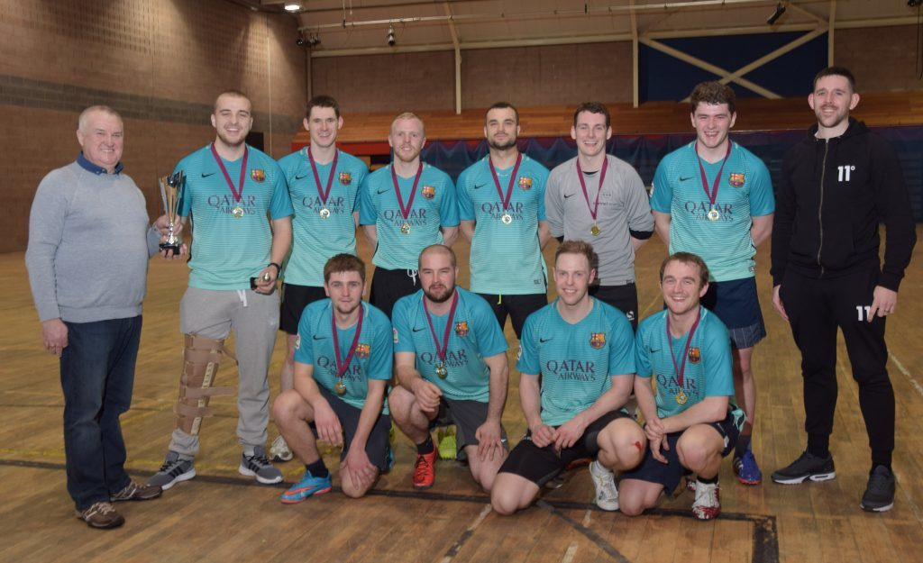 Unbeaten Doghouse Thistle crowned winners of indoor league